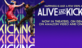"Promotional graphic for ""Alive and Kicking."""