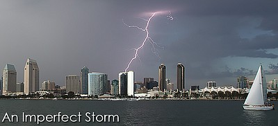 Promotional graphic for An Imperfect Storm.