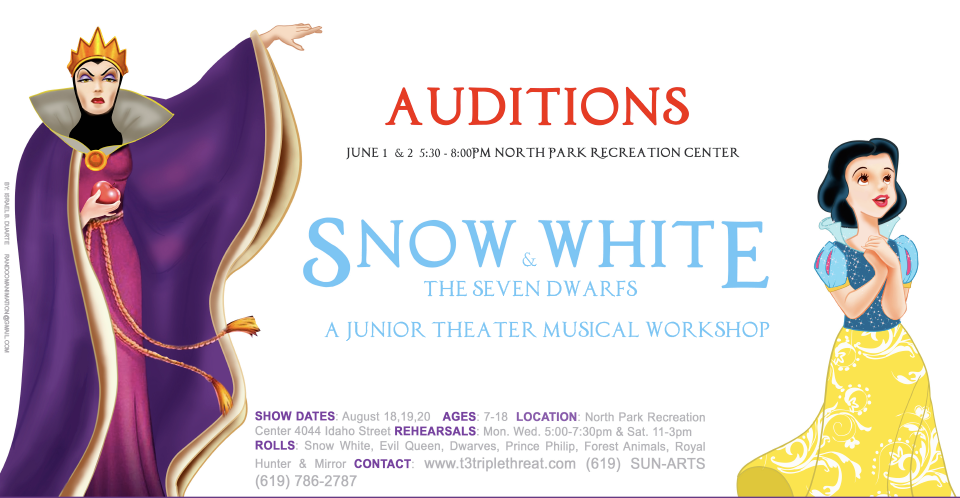 Snow White And The Seven Dwarfs' Auditions - June 3, 2017 | KPBS