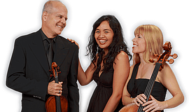 Promotional photo of the Aviara Trio.