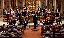 Photo of a previous Bach Collegium performance. Courtesy of Gary Payne.