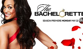 "Promotional flier for ABC's ""The Bachelorette."""