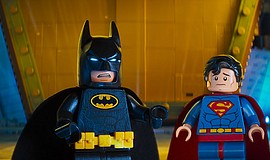 Will Arnett and Channing Tatum in The LEGO Batman Movie (2017).
