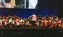 Photo of associate conductor Sameer Patel courtesy of San Diego Symphony.