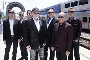 A 2017 promotional photo of the Beach Boys, courtesy of H...