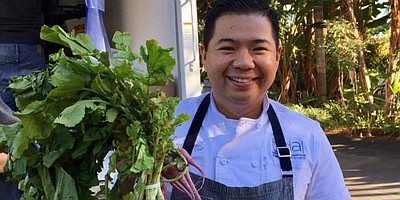 Photo of Chef DJ Tangalin of Tidal. Courtesy of the Berry Good Food Foundation.