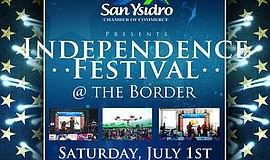 Independence Festival at the Border. Courtesy of San Ysidro Chamber of Commer...