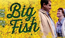 "A promotional poster for ""Big Fish,"" courtesy of Lamb's."
