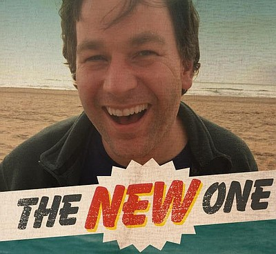 "A promotional poster for Mike Birbiglia's ""The New One,"" courtesy of La Jolla Playhouse."
