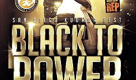 Promotional graphic for Kuumba Fest: Black To Power.