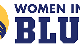 Promotional graphic for the San Diego Police Foundation's Women in Blue event.