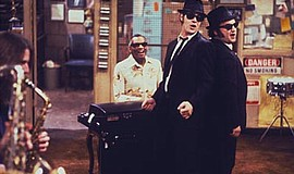 "Promotional photo for the screening of ""The Blues Brothers."" Courtesy of MPTV..."