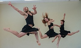 A photo from a Blythe Barton Dance performance.