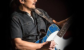Brad Paisley performs.