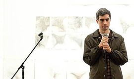 Promotional photo for Brent Weinbach at the Whistle Stop Bar. Courtesy of Rif...