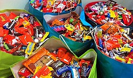 Promotional photo of previous candy that was turned in during the 2011 Candy ...