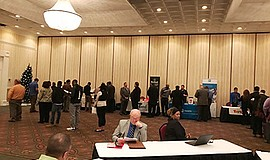 Promotional photo for the North County Sales Career Fair. Courtesy of HireLive.