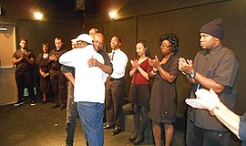 Photo from a previous Drama/Theatre Workshop. Courtesy of Community Actors Th...