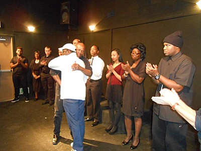 Photo from a previous Drama/Theatre Workshop. Courtesy of Community Actors Theatre.