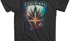 "A photo of the ""Guardians of the Galaxy"" shirt that all blood donors will rec..."