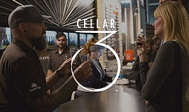 Promotional photo for the Cellar 3 tasting room.