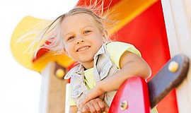 Promotional photo of child. Courtesy of San Diego Center for Children.