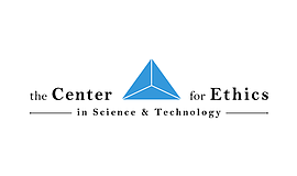 The Center for Ethics in Science & Technology logo.