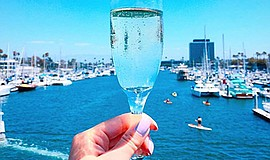 Promotional photo for the Smooth Jazz Champagne Brunch Cruise. Courtesy of Ba...