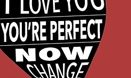 "Promotional graphic for OB Playhouse's production of ""I Love You, You're Perf..."