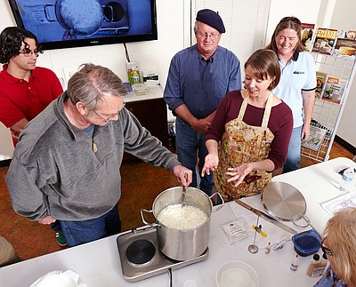 Photo of participants at the Cheesemaking Fundamentals Cl...