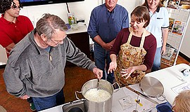 Promo graphic for Cheesemaking Fundamentals Class At Cu...