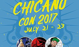 A promotional graphic for Chicano-Con 2017, courtesy of Border X Brewing.