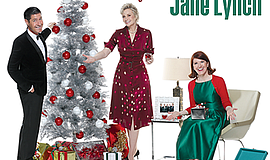 "Promotional graphic for ""A Swingin' Little Christmas."" Courtesy of Jane Lynch."