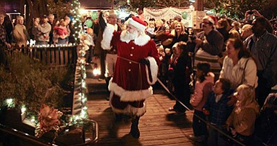 Photo from a previous Christmas in the Park. Courtesy of ...
