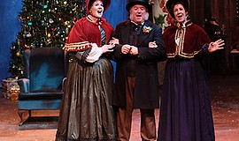 "Photo from a previous performance of ""A Christmas Carol."" Courtesy of Cygnet ..."