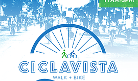 Promotional graphic for CiclaVista.