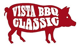 Promotional logo for the annual Vista BBQ Classic.