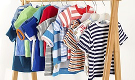 Promotional photo of children's clothing for the SD Savers Big Kids Consignme...