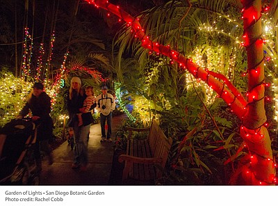 Promotional photo for Garden Of Lights: December 2 – 23 &...