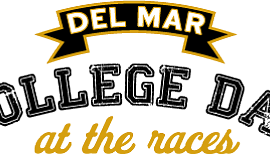 Promotional graphic courtesy of the Del Mar Thoroughbred Club.