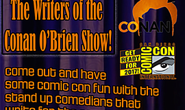 Promotional poster for the Writers of Conan Comedy Stand-Up. Courtesy of Mad ...