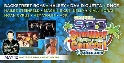 Channel 93 3 Summer Kick Off Concert 2017 May 12 2017
