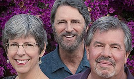 Promotional photo of singers and bassist. Courtesy of Unitarian Universalist ...