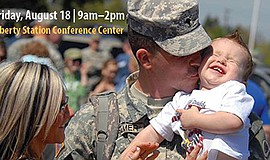 "Promotional photo for ""Better Together."" Courtesy of the San Diego Military F..."