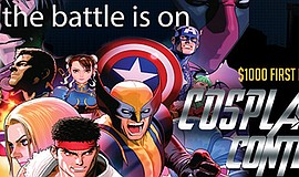 Promotional graphic for the Sixth Annual Cosplay Contest presented by Henry's...