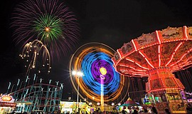 The San Diego County Fair.