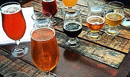 Promotional photo of craft beer. Courtesy of Stone Brewery Escondido.
