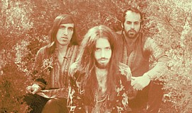 A photo of the band Crystal Fighters.