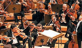 A photo of the Chicago Symphony Orchestra, courtesy of the organization.