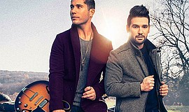 Promotional photo of Dan + Shay.